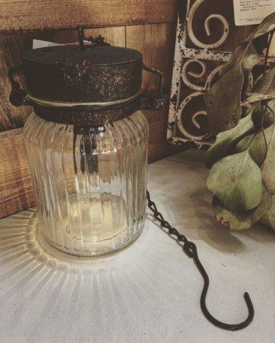 画像3: ジャム瓶のLEDランタン・レトロ