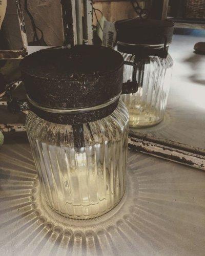 画像2: ジャム瓶のLEDランタン・レトロ