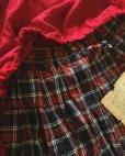 画像3: MARCHE' DE SOEUR/赤チェックギャザースカート