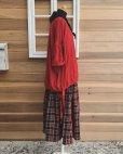画像7: MARCHE' DE SOEUR/赤チェックギャザースカート