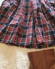 画像4: MARCHE' DE SOEUR/赤チェックギャザースカート