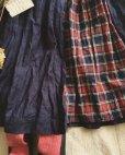画像3: MARCHE' DE SOEUR/ネイビー×赤チェックギャザースカート