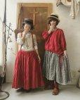 画像2: MARCHE' DE SOEUR/吊りスカート・赤 (2)