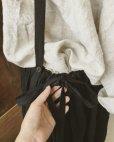 画像7: MARCHE' DE SOEUR/ブラックリネン吊りスカート