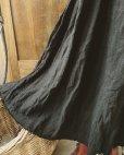 画像3: MARCHE' DE SOEUR/ブラックリネン吊りスカート