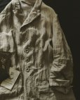 画像2: HALLELUJAH/1920年代 Veste「ロングジャケット」belgian sand baige (2)