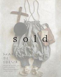 MARCHE' DE SOEUR/シャーリングピエロパンツ