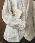 画像5: HALLELUJAH/Chemisier Victorien ヴィクトリア時代シャツ・off white