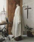 画像8: HALLELUJAH/Robe de fame de chambre 小間使いローブ・wool ivory