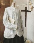 画像3: HALLELUJAH/Chemisier Victorien ヴィクトリア時代シャツ・off white