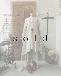 HALLELUJAH/Robe d'Aran アランローブ・off white