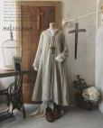 画像1: HALLELUJAH/Robe de fame de chambre 小間使いローブ・wool flax (1)