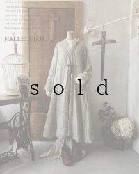 HALLELUJAH/Robe de fame de chambre 小間使いローブ・wool flax