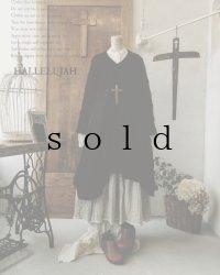 HALLELUJAH/Robe d'Aran アランローブ・black