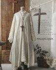 画像2: HALLELUJAH/Robe de fame de chambre 小間使いローブ・wool ivory (2)