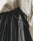 画像5: MARCHE' DE SOEUR/タブリエスカート・黒×ギンガム