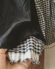 画像8: MARCHE' DE SOEUR/タブリエスカート・黒×ギンガム