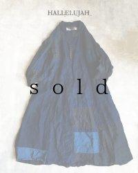 HALLELUJAH/1920s Nomad Dress ノマドドレス・インディゴ