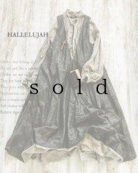 HALLELUJAH/Robe de femme de chambre no.4 小間使いローブ・墨染charcoal