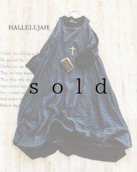 HALLELUJAH/Robe de Berger 羊飼いのローブ・navy stripe