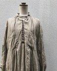 画像9: HALLELUJAH/1890's Bourgeron 1890年代 羊飼いシャツワンピース・flax