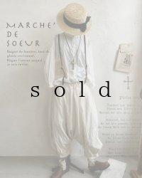 MARCHE' DE SOEUR/王様パンツ・トリプルウォッシュコットンミルク