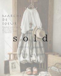 MARCHE' DE SOEUR/ピエロパンツ・チェック×ブラック