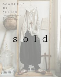 MARCHE' DE SOEUR/ピエロパンツ・黒