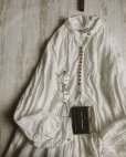 画像3: HALLELUJAH/1890's Bourgeron 1890年代 羊飼いシャツワンピース・off white