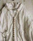画像4: HALLELUJAH/1890's Bourgeron 1890年代 羊飼いシャツワンピース・off white