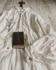 画像2: HALLELUJAH/1890's Bourgeron 1890年代 羊飼いシャツワンピース・off white (2)