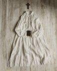 画像6: HALLELUJAH/1890's Bourgeron 1890年代 羊飼いシャツワンピース・off white