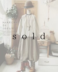 MARCHE' DE SOEUR/ピエロパンツ・モカブラウン