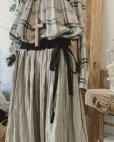 画像3: MARCHE' DE SOEUR/バイカラースカート・裾に小花