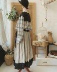 画像8: MARCHE' DE SOEUR/バイカラースカート・裾に小花