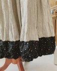 画像7: MARCHE' DE SOEUR/バイカラースカート・裾に小花
