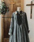 画像1: HALLELUJAH/Robe de une religieuse 修道女のローブ・グレンチェック (1)