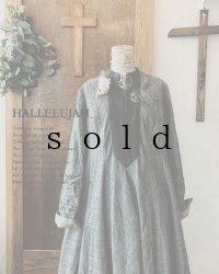 HALLELUJAH/Robe de une religieuse 修道女のローブ・グレンチェック