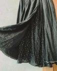 画像6: 再入荷MARCHE' DE SOEUR/二枚仕立てのスカート・黒×小花
