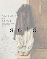 MARCHE' DE SOEUR/王様パンツ長め丈・エクリュ