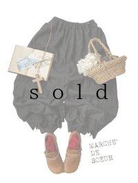 MARCHE' DE SOEUR/パペットパンツ・ブラック