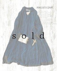 HALLELUJAH/【限定販売】1920s Nomad Dress No.2[ノマドドレス]・indigo