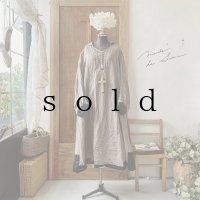 【当店限定カラー】HALLELUJAH/Nomad Dress ノマドドレス・brown×black