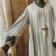 画像5: 【当店限定カラー】HALLELUJAH/Nomad Dress ノマドドレス・flax×black