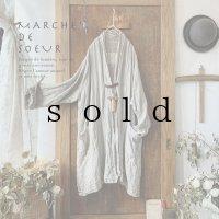 MARCHE' DE SOEUR/リトアニアリネン・革タグのジャケット
