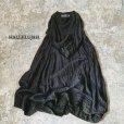画像1: 【当店限定】HALLELUJAH/1980's Robe de Berger 羊飼いのローブ・ink black×charcoal (1)