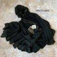 画像1: HALLELUJAH/Robe Medievale a Capuche 中世のフードローブ・black (1)