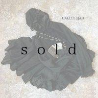 HALLELUJAH/Robe Medievale a Capuche 中世のフードローブ・black