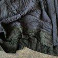 画像3: 【当店限定】HALLELUJAH/1980's Robe de Berger 羊飼いのローブ・ink black×charcoal