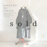 MARCHE' DE SOEUR/ラッフルバルーンチュニック・黒